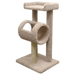 New Cat Condos Premier Premeire Cat Climber Cat Tree, Beige