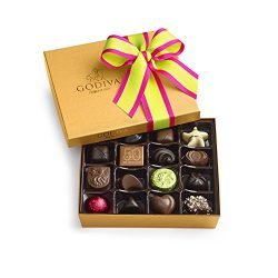 Godiva Chocolatier Spring Ballotin 19 Piece Gift Box, 7.1 Ounce, Great for Mother's Day