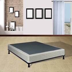 Mattress Solution 225y-5/0-3 8-Inch Assembled Box Spring/Foundation for Mattress, Queen, Size