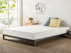 Zinus 7 Inch Heavy Duty Low Profile Platforma Bed Frame/Mattress Foundation/Boxspring Optional/W ...