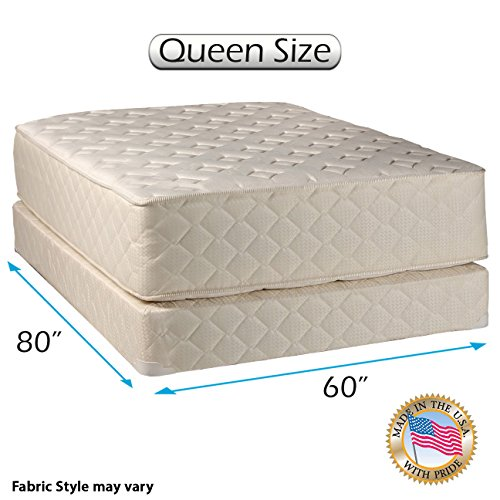 Dream Sleep Highlight Luxury Firm Queen Mattress Set