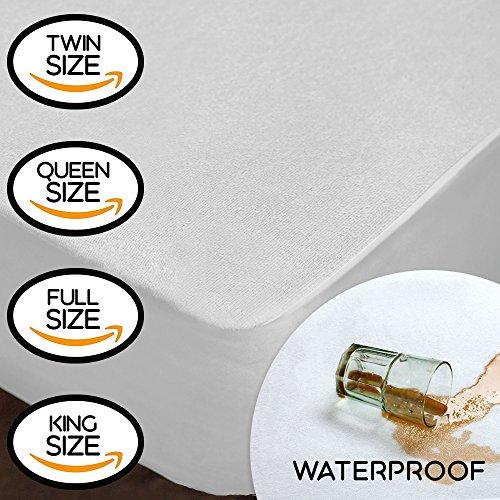 Milddreams Waterproof Mattress Protector Full Cotton Terry