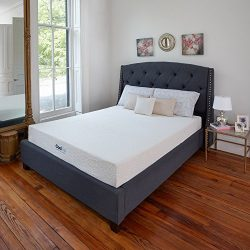 Classic Brands Cool Gel Ventilated Gel Memory Foam 8-Inch Mattress, Queen