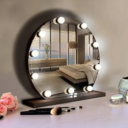 Hollywood Style LED Vanity Mirror Lights Kit with 10 Dimmable LED Bulbs, Flexible Strip for Make ...
