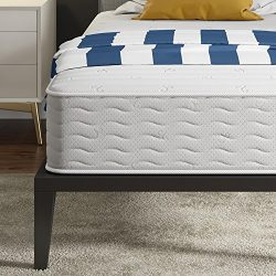 Signature Sleep Contour 10 Inch Reversible Independently Encased Coil Mattress with CertiPUR-US  ...