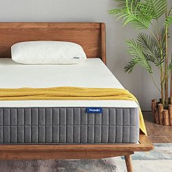 Queen Mattress, Sweetnight 10 Inch Gel Memory Foam Mattress in a Box, Sleeps Cooler, Supportive  ...