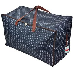 Large Storage Bag, Handy Heavy Duty Jumbo Wardrobe Chest Underbed Organizer Tidy for Duvet Pillo ...