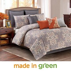 Wonder-Home 10-pc. Luxury Designer Style Microsuede Comforter Set, Oversized & Overfilled Gr ...