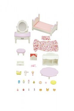 Calico Critters Bedroom & Vanity Set, Multicolor