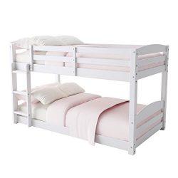 Baby Relax FZ7891W Phoenix Bunk Bed, Twin, White