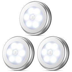 AMIR Motion Sensor Light, Stick-Anywhere Cordless Battery-Powered LED Night Light, Closet Lights ...