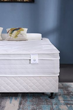 Oliver Smith – Organic Cotton – 12 Inch – Firm Mattress – Cool Memory Fo ...