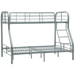 Mecor Twin over Full Metal Bunk Beds with Ladder for Kids Teens Adult Loft Bed Dorm Bedroom Furn ...
