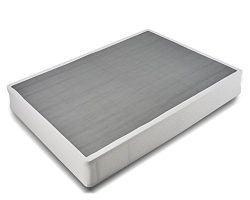HOMUS 8 Inch High Easy Assembly Box Spring, 5000 lbs Heavy Duty Steel Structure Mattress Foundat ...