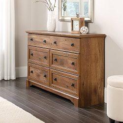 Sauder 420613 Palladia Dresser, Vintage Oak Finish