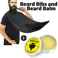 Big Bearded Shaving Bib – Beard Catch And Beard Balm, Professional Hairdresser From Man To ...