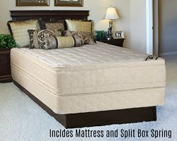 Mattress Solution 480y-5/0-2S 14″ Fully Assembled Orthopedic Double Sided Mattress and Spl ...