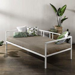 Zinus Morning Mist Twin Daybed Frame, Steel Slat Support