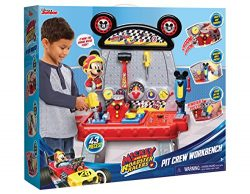Just Play Mickey and the Roadster Racers Pit Crew Workbench Playset