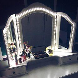 LED Vanity Mirror Lights Kit, MZTDYTL 13ft/4M LED Mirror Light Strip 240 LEDs Soft Daylight Whit ...