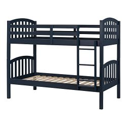 South Shore 11823 Bunk Beds Aviron Solid Wood, Navy Blue