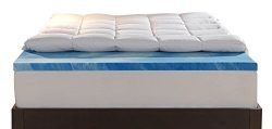 Sleep Innovations 4-Inch Dual Layer Full Mattress Topper