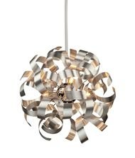Artcraft Lighting Bel Air Pendant, Chrome