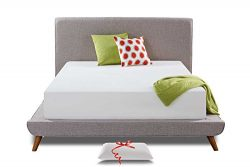 Live and Sleep – Resort Classic New 12-Inch Queen Size Cooling Medium Firm Memory Foam Mat ...