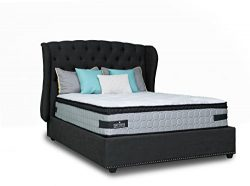 Mattress America Frost 13 Inch Hybrid Pocket Coil Pillow Top Mattress Gel Infused Memory Foam (Q ...