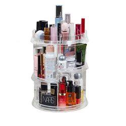 [Upgraded Design] 360 Degree Luxury Rotating Makeup/Perfume Organizer Storage Carousel-Adjustab ...