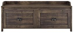 SystemBuild 7808846COM Storage Bench, Rustic