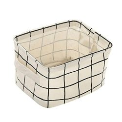 haoricu Storage Basket, 2018 Clearance Foldable Storage Bin Fabric Basket Closet Toy Boxs Contai ...