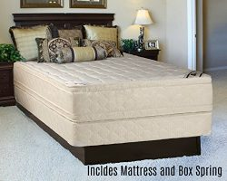 Continental Sleep Foam Encased Fully Assembled Eurotop 14″ Orthopedic Mattress and Box Spring