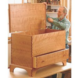 Fine Woodworking Plan 11057 Shaker Blanket Chest