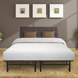 Best Price Mattress 8″ Air Flow Memory Foam Mattress & 14″ Premium Metal Bed Fra ...