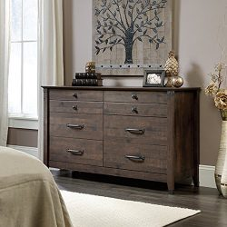 Sauder 419082 Dresser, Coffee Oak