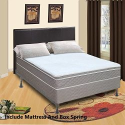 Mattress Solution, 440yy-5/0-2 10-Inch Fully Assembled Innerspring Back Support Plush Mattress a ...