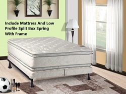 Mattress Solution 302yF-6/6-2SFLP 12″ Plush Pillowtop, Orthopedic Doublesided Mattress and ...