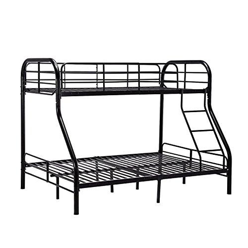 Mecor Twin over Full Metal Bunk Beds Frame with Ladder for Kids Teens Adult Loft Bed Set Dorm Be ...