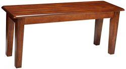 Ashley Furniture Signature Design – Berringer Dining Bench – Rectangular – Vin ...