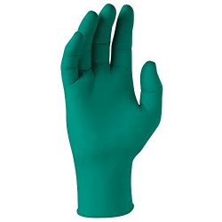 "Kimberly-Clark Spring Green Nitrile Exam Gloves (43439), 4.7 Mil, Ambidextrous, 9.5"", Medium, 20 ..."