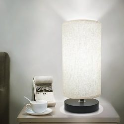 Bedside Table Lamp, Aooshine Minimalist Solid Wood Table Lamp Bedside Desk Lamp Simple Desk Lamp ...