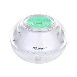 BAVIER Cool Mist Humidifier, Mini humidifier baby, 120ml humidifier desk office, humidifier for  ...