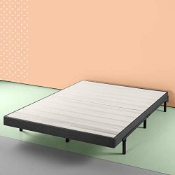 Zinus 4 inch Essential Box Spring,  Mattress Foundation, Easy Assembly Required, Queen