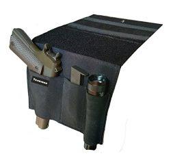 Terrernce Tactical Bed Pistol Holster, Bedside Handgun Holster, Mattress Gun Holster Universal W ...