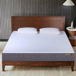 Queen Mattress, BELLLAND 10 inch Gel Memory Foam Mattress Bed in a box, Sleep Supportive & P ...