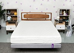 Purple Queen Mattress | Hyper-Elastic Polymer Bed Supports Your Back Like A Firm Mattress And Cr ...