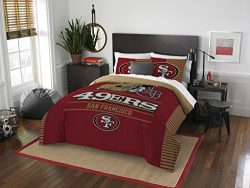 The Northwest Company Officially Licensed NFL San Francisco 49ers Draft Full/Queen Comforter and ...
