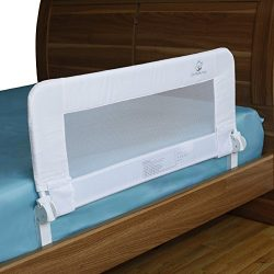 Bed Rails for Toddlers – Toddler Bed Rail Guard for Convertible Crib, Kids Twin, Double, F ...