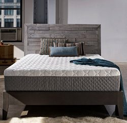 Sleep Innovations Taylor 12-inch Gel Memory Foam Mattress, ORIGINAL Cover, Made in the USA with  ...